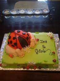 ladybug rump babyshower cake cakecentral com