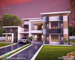 3654 sq ft flat roof house plan kerala home design bloglovin 3654 sq ft flat roof house plan