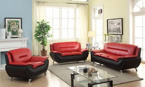 Red Sofa Sets by Gl 6245 Kennedy Leather Sofa Set Furtado Furniture