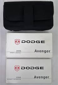 dodge avenger manual 2008 dodge avenger owners manual guide book bashful yak