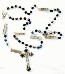 rosary from the vatican mysteries of the rosary from italy with free vatican postcard and