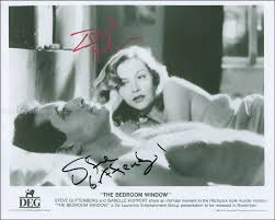 movie in the bedroom the bedroom window movie cast photograph signed with cosigners