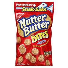 nutter butter bites mini peanut butter sandwich cookies snak