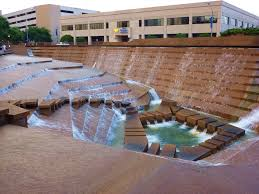 Texas how does sound travel images Water gardens fort worth texas part of logan 39 s run was filmed jpg
