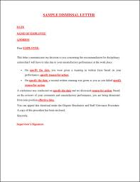 34 printable termination letter