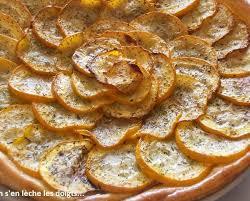 cuisiner les courgettes jaunes recette tarte aux courgettes jaunes et crème d alhambra 750g