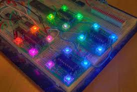 4 rgb led pwm controller using pic16f628 hacked gadgets diy