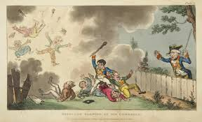 january 23 1815 cruikshank u0027s u201cthe life of napoleon a hudibrastic
