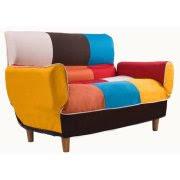 merax contemporary colorful convertible sleeper sofa split back