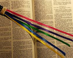 ribbon bookmarks ribbon bookmark etsy