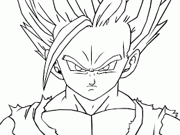 pictures dragon ball kai kids coloring