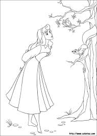 7 coloring pages sleeping beauty images
