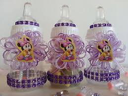 minnie mouse baby shower favors 12 minnie mouse fillable bottles baby shower favors prizes girl