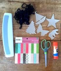 one a week scrapbook paper ornaments plus an announcement