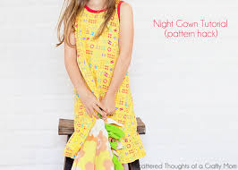 knit night gown tutorial pattern hack scattered thoughts of a