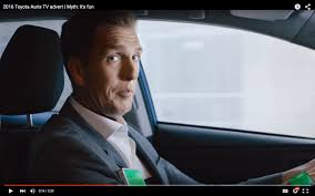 actress in subaru commercial 2016 crosstrek funny toyota auris hybrid ad involves paid actor and lie detector