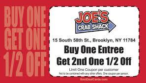 coupons for joe s crab shack chelsea clock joe s crab shack coupons