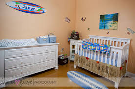 Surfer Crib Bedding Surfer Baby Nursery Theme Surf Nursery Decorating Ideas