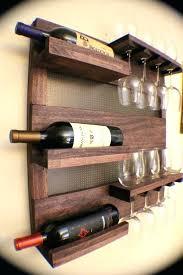 Wine Glass Wall Decor Wine Rack On Wall U2013 Abce Us