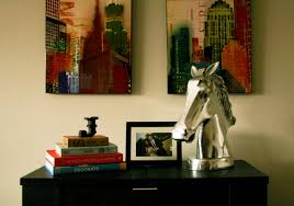 mini trend u2013 decorating with horses all put together