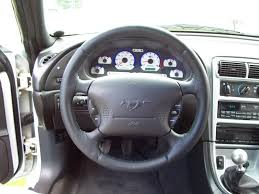 mustang cobra steering wheel anyone install a grant or aftermarket steering wheel on an sn95