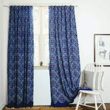navy blue window curtains dragon fly