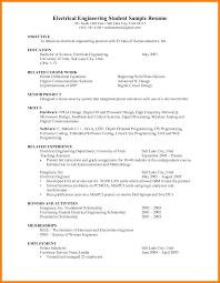 engineering student resume 6 engineering student resume examples