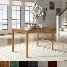 48 by 48 table wilmington ii 48 inch rectangular dining table by inspire q classic