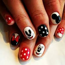 38 best nails micky and mini images on pinterest disney cruise