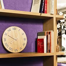 stitched wall clock u2013 crowdyhouse