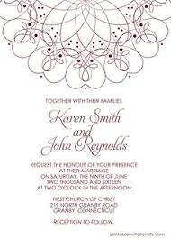 wedding template invitation free pdf wedding invitation foliage borders invitation