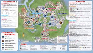 magic kingdom disney map mickey s merry allergy free mouse