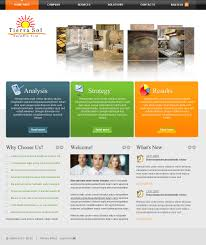 web page design contests tierra sol ceramic tile web site