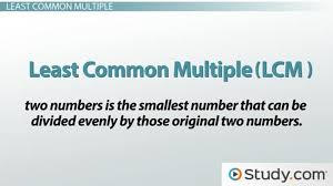how to find the least common multiple video u0026 lesson transcript