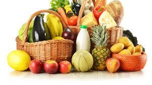 fruit and vegetable basket wallpapers potato pineapples wicker basket food fruit 2560x1440
