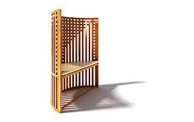 Wooden Armchair Designs 3d Model Wooden Chair