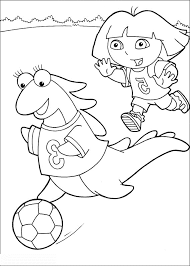 kidscolouringpages orgprint u0026 download dora coloring pages for