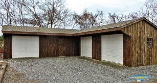 just garages rustic wooden garage pine batten car shed horizon structures