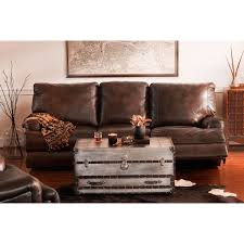 How To Disassemble Recliner Sofa by Kingsway Power Reclining Sofa Brown American Signature Furniture
