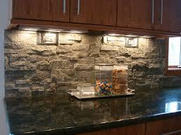 excellent delightful stacked stone kitchen backsplash natural