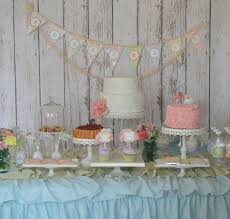 shabby chic personalized aqua and pink vintage garden tea party