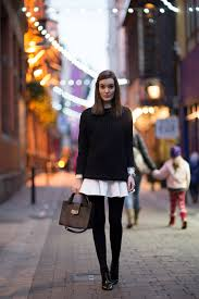 Colors That Go With Black And White by Can I Wear A White Dress With Black Tights Dress Like A Parisian