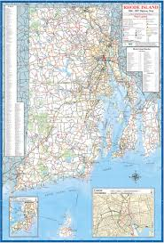 Central United States Map by Rhode Island Map