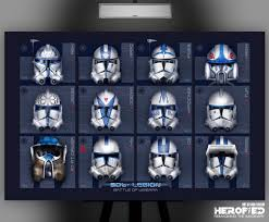 clone trooper wall display armor star wars inspired 501st battle of umbara