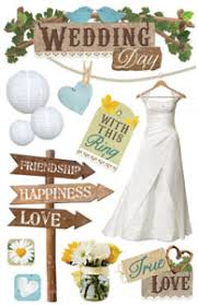 wedding scrapbook stickers scrapbooking bargain packs