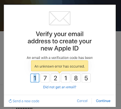 membuat id apple dari pc cannot create apple id either from ios of website an unknown error