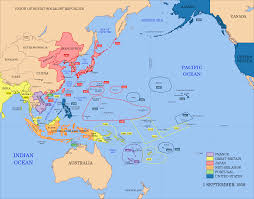 Un Map Mapas De Japón Un Mapa De Las Potencias Imperiales Del Pacífico