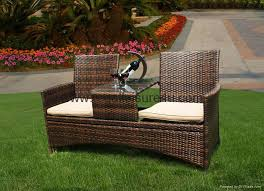 Outdoor Table And Bench Seats Creative Of Outdoor Furniture Bench Seat New Port Dining Setting