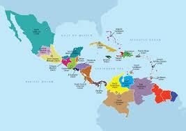 Cuban Map Unions Seventh Day Adventist Church Inter American