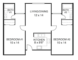 beautiful best 2 bedroom 2 bath house plans for hall kitchen bedroom ceiling floor two bedroom home design attractive 2 bedroom plan in with bedroom